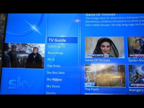 Take a tour of Sky Q's new interface and features