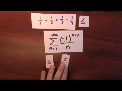 Why are alternating series important? - Week 4 - Lecture 9 - Sequences and Series