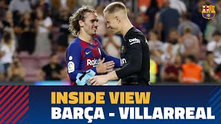[BEHIND THE SCENES] Barça 2-1 Villarreal from the inside
