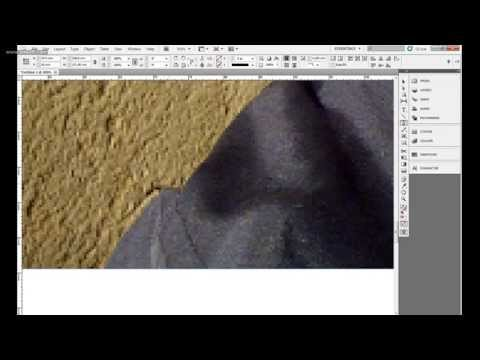 HOW TO REMOVE BACKGROUND IN ADOBE INDESIGN CS5