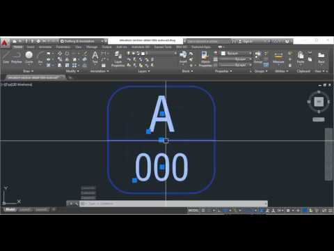 Download elevation section detail title symbol AutoCAD free