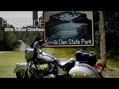 2016 Indian Chieftain First Ride Review - MotoUSA