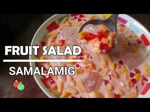 Fruit Salad Samalamig l Fruit Salad Drink l Pangnegosyo Recipe