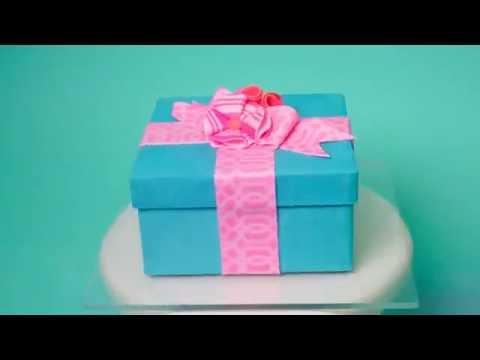 Gift Box Cake Contour Combs