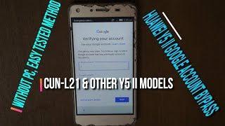 Huawei CUN-U29 Huawei Y5 II 4G REMOVE FRP BYPASS GOOGLE ACCOUNT