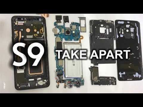 Samsung Galaxy S9 Complete Take Apart - LCD Screen, Back Cover & Battery