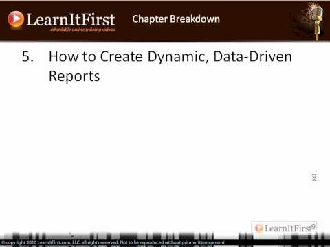 Course 162: SQL Server 2008/R2 Reporting Services