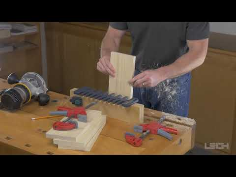 Leigh Box Joint & Beehive Jig Model 975 - How to Rout Box Joints