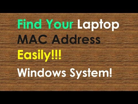 How to Find MAC in Your Windows System | Find MAC address on Windows 10