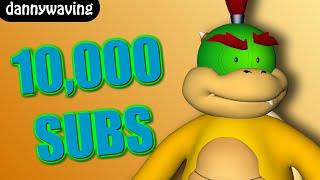 10000 subs - BOWSER JR VLOG!