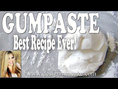 Best Gumpaste Recipe Ever- Step by step video