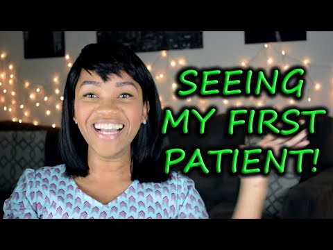 Seeing My First Patient in only my 2nd Semester of PA School! || Diary of a PA Student