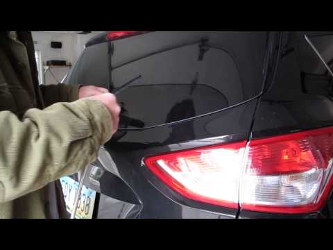 Replacing rear wiper blade on 2013 Ford Escape