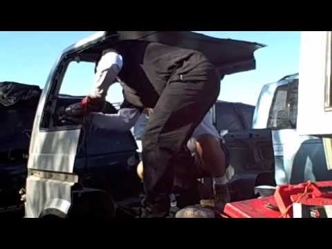 Astroquake video 3 Junk yard series cut off rear doors