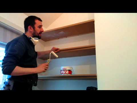 How to make a floating shelves