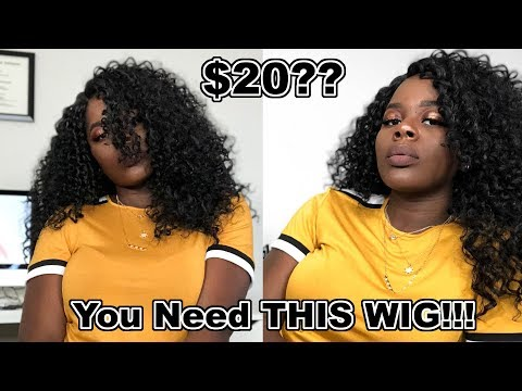 You NEED THIS $20 WIG!! FREETRESS EQUAL SYNTHETIC LACE FRONT WIG SHALOME|| TheAdeTomi