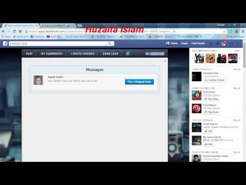 How to find Criminal Case Signature and Facebook ID