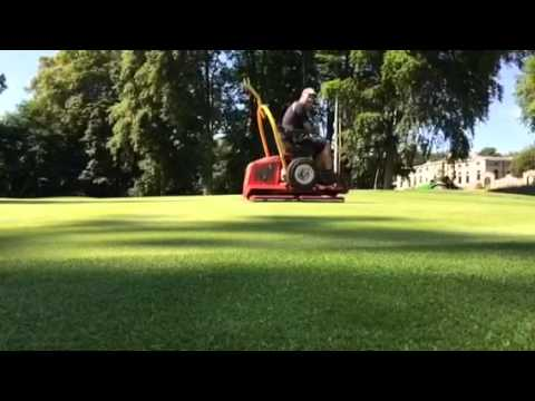 Task 120 Rolling the Greens