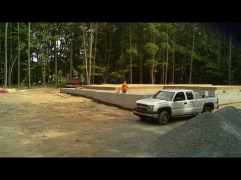 Mattson Acres - Aug 23rd to Aug 25th  - Sub Floor and Garage Framing