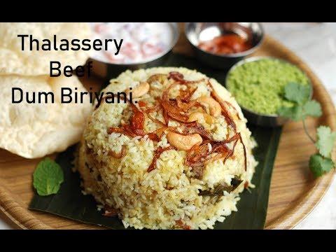thalassery beef dum biriyani-beef biriyani-recipe no 66