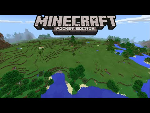 MCPE: Flat World Seed!!! (Seed Review)