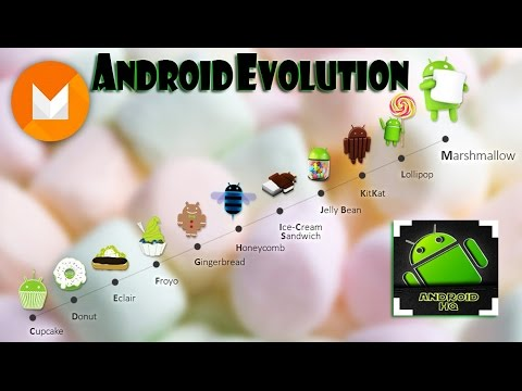 Evolution of Android OS
