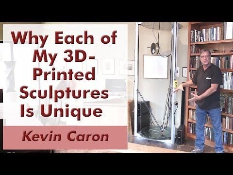 Why Each of My 3D-Printed Sculptures Is Unique - Kevin Caron