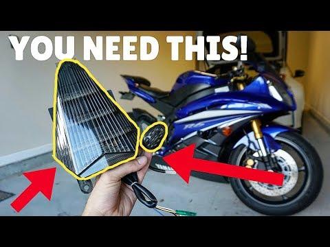 Yamaha R6 Flush Mount Turn Signal and Integrated Brake Light INSTALL