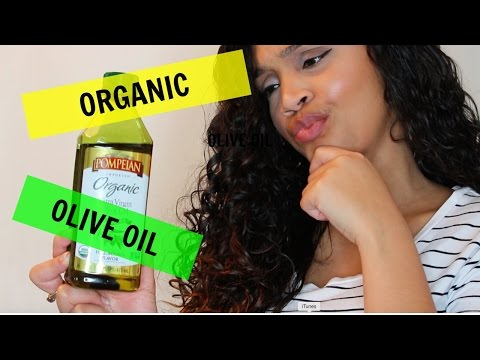 EXTRA VIRGIN OLIVE OIL/ NATURAL HAIR REVIEW AND WASH AND GO DEMO