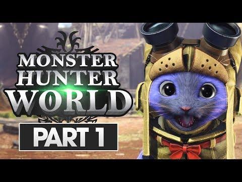 Monster Hunter World Walkthrough Part 1: WELCOME HUNTERS