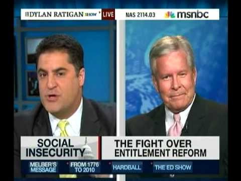 MSNBC w/ Cenk: Fiery Debate On Social Security