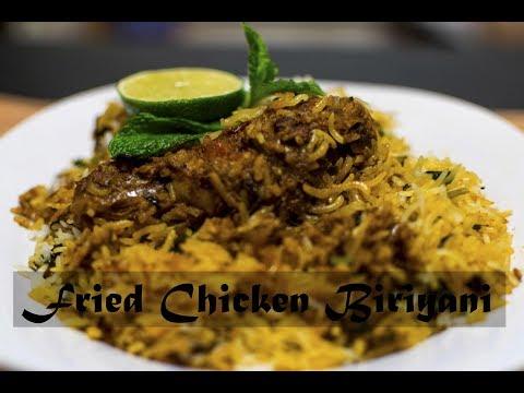 Fried Chicken Biryani | Kerala style Biryani | Malabar style Biryani