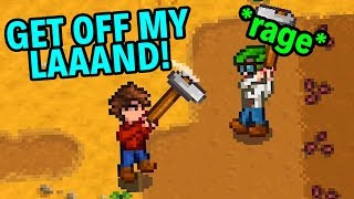 Stardew Angry Farmer World & Civilized RimFloor