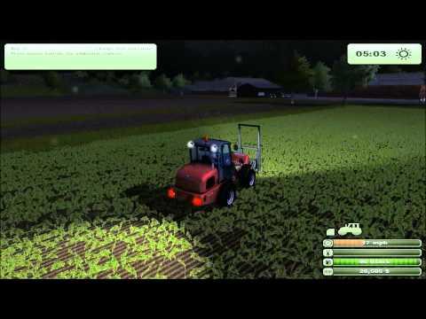 Rey Bailing Hay - farming simulator 2013 selling hay.wmv