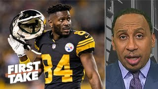 'Antonio Brown is melting down' - Stephen A. Smith | First Take
