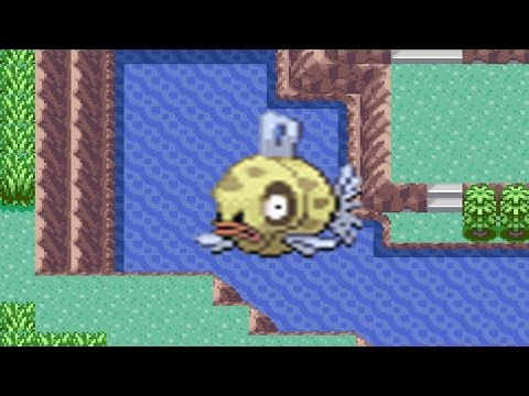 How to find Feebas in Pokemon Emerald
