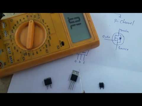 How to Check Mosfet in Hindi