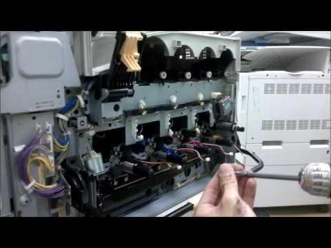 Xerox Developer unit remove and clean
