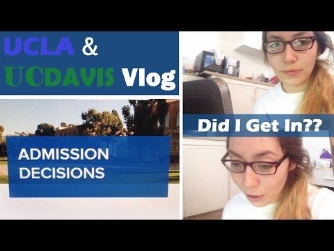 Opening UCLA & UC Davis Admission Decisions {sweetbee}