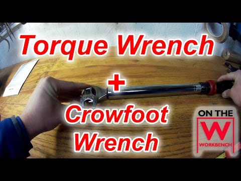 Tip: How to Correctly Use a Torque Wrench with a Crowfoot Wrench