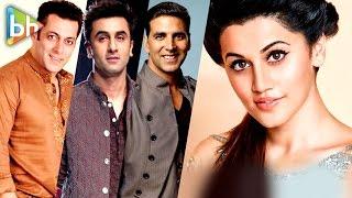 Naam Shabana Taapsee Pannu's Rapid Fire On SUPERSTAR Salman Khan | Ranbir Kapor | Akshay Kumar