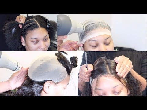Lace Closure PRONTO Quickweave #SalonWork | Quality, AFFORDABLE Aliexpress Hair | Ali Pearl