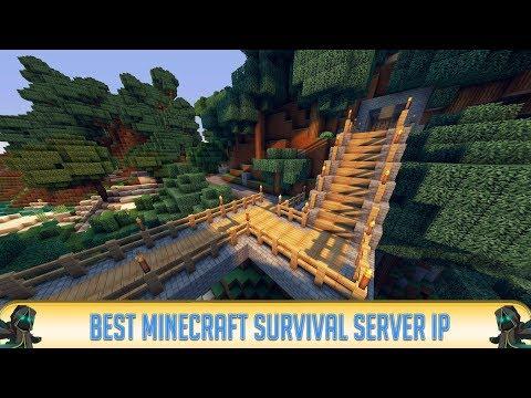 Minecraft 1.12.2 SURVIVAL SERVER! (IP in Desc.)   Towny   2018   Best Minecraft Server
