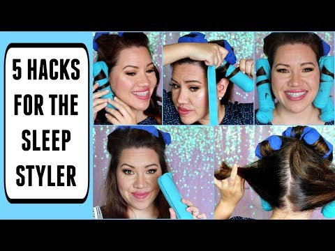 THE SLEEP STYLER: 5 HACKS FOR THE BEST RESULTS!