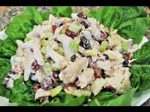 💖 Homemade Chicken Salad Or Turkey for a Sandwish or a Wrap Recipe by Mommy Is A Chef Episode 79