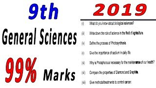 general science 9th class short questions Videos - 9tube tv