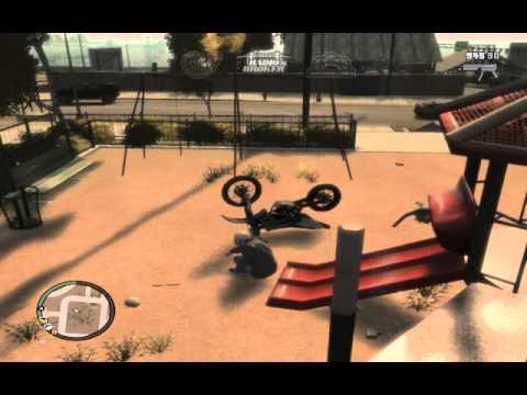 How do you ride your bike? (GTA IV)