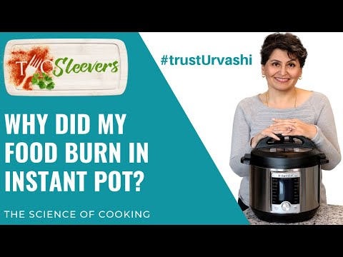 Why did my food burn in the Instant Pot?