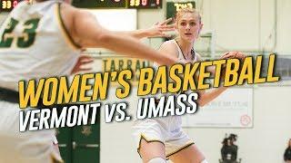 Womens Basketball Vermont Vs UMass 112919