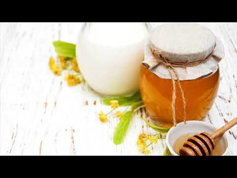 Honey And Milk Fights With Insomnia - When To Take